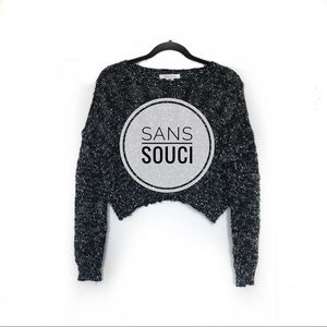 🖤Sans Souci cropped sweater🖤